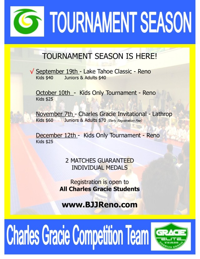 Tournament Season 2015