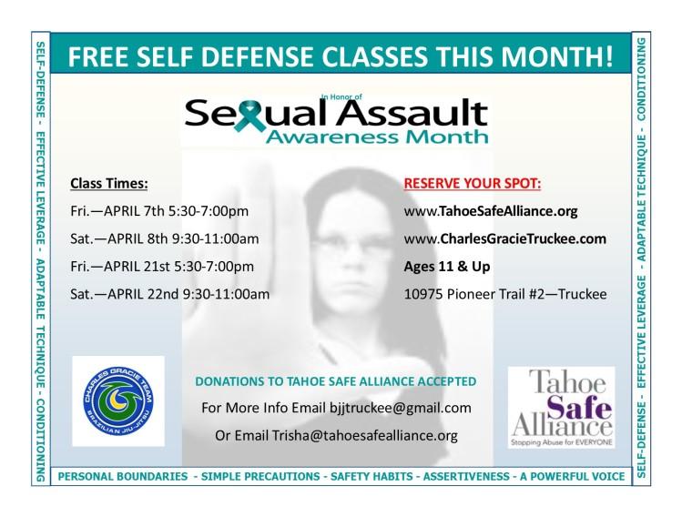 Sexual Assault Flier