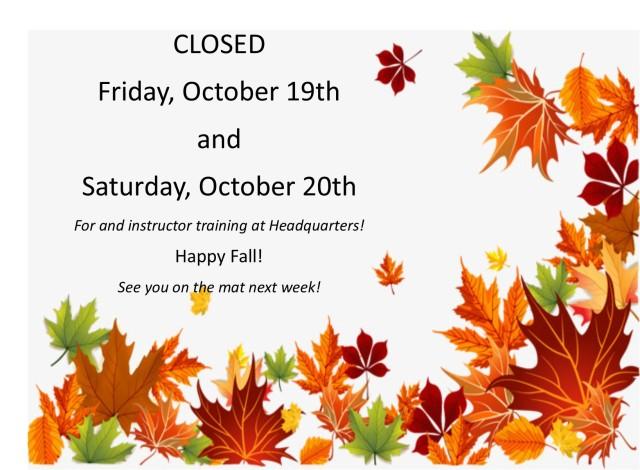 Fall Closed